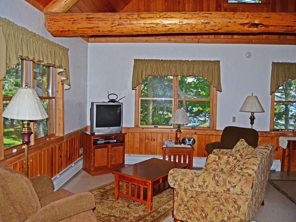Great Room with cathedral ceiling,...