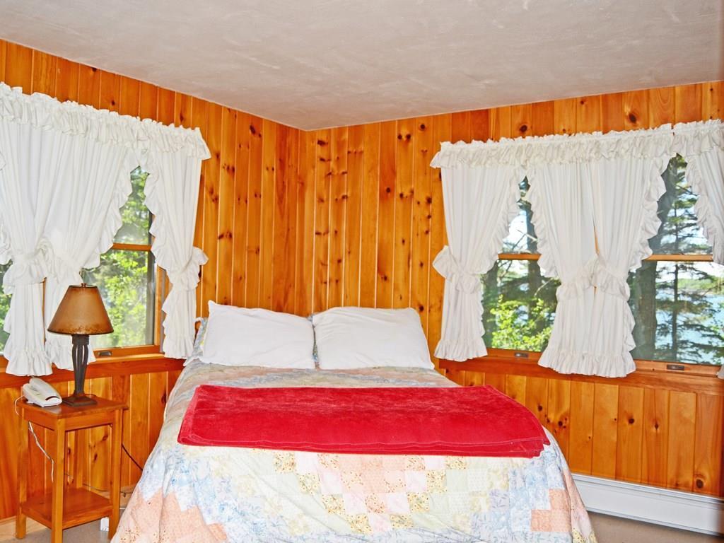 One of two ocean view bedrooms.