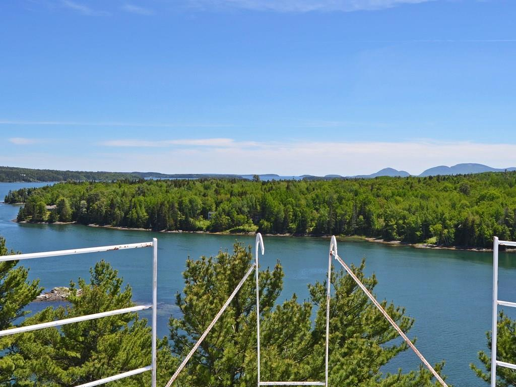 View over Frenchman Bay to the...