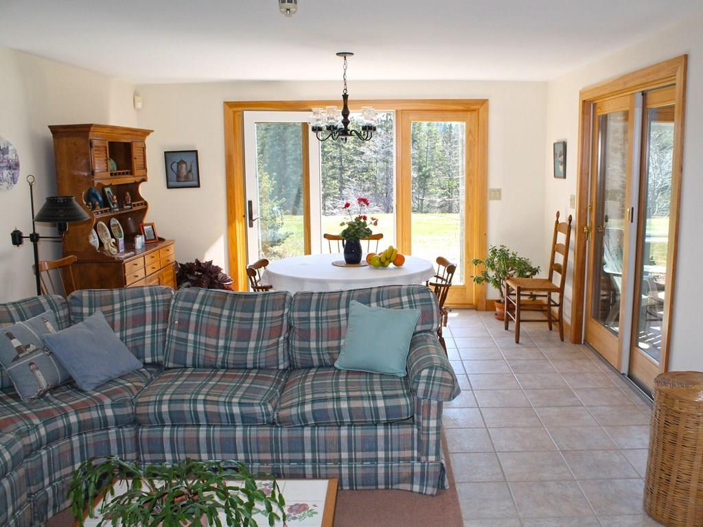 Lower level family room with access...