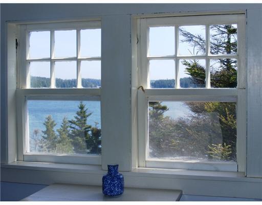 View. The third floor garret bedroom...