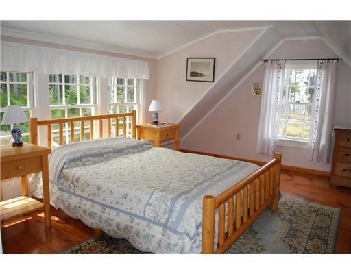 Bedroom. The master bedroom in the...