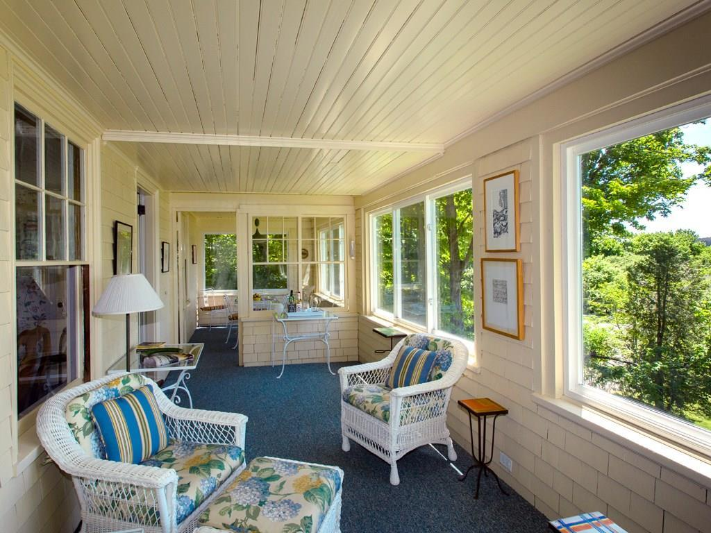 Sunporch off Dining Room. Water view.