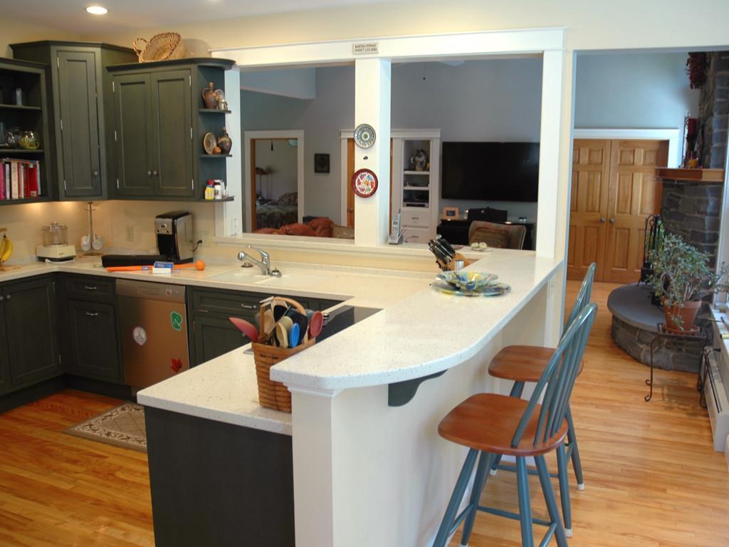 Kitchen Toward Living/Dining