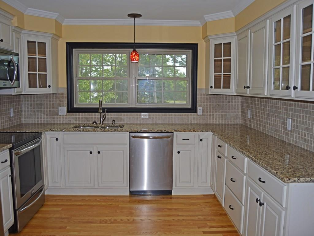 Newly renovated kitchen with granite...