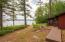 265 feet of beautiful frontage just steps from cottage