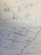 tax map and survey plot gently sloping water front 3.8 ac on Moose Pond.