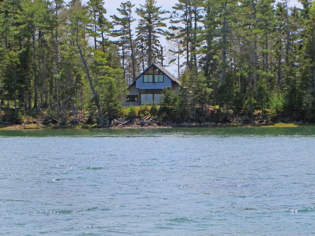 View of cottage from the water