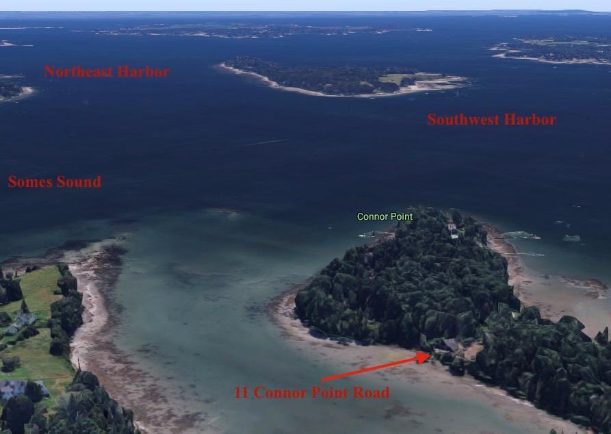 Bird's eye view of Water's Edge...