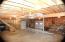 Under garage storage and/or workshop area.
