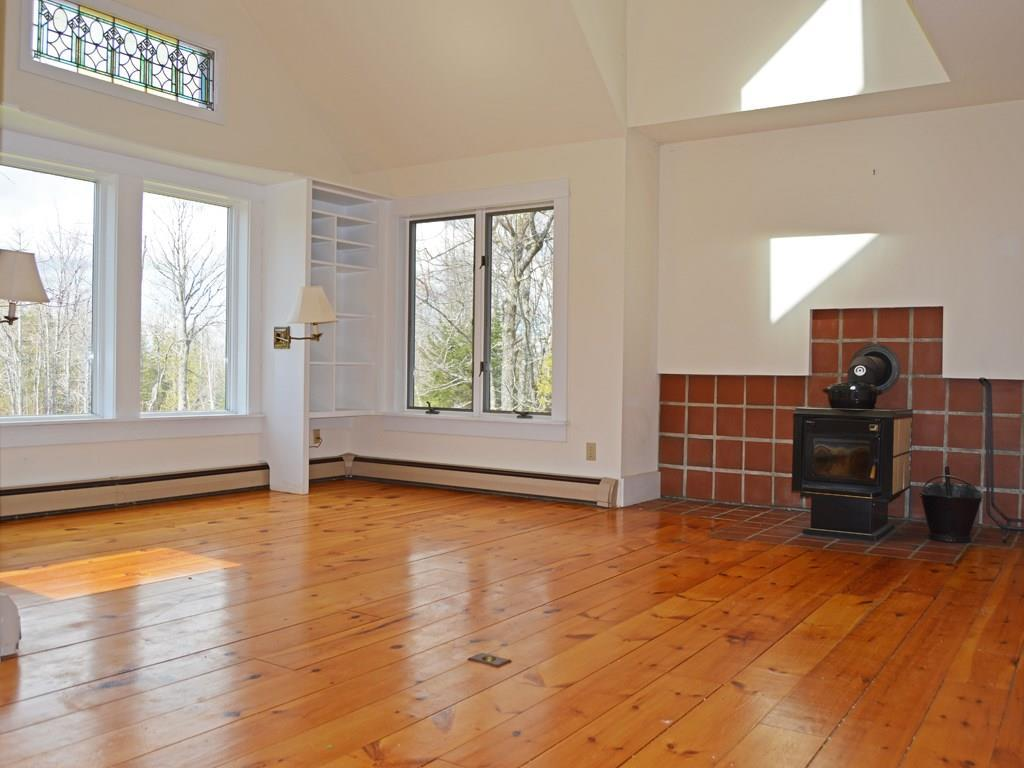 Open concept home with large...