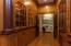 The grand hallway leading to the master suite