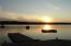 Just a beautiful sunset from the cement dock. The dock has extensions for boats to pull up and a ladder at the end of the dock for swimming.