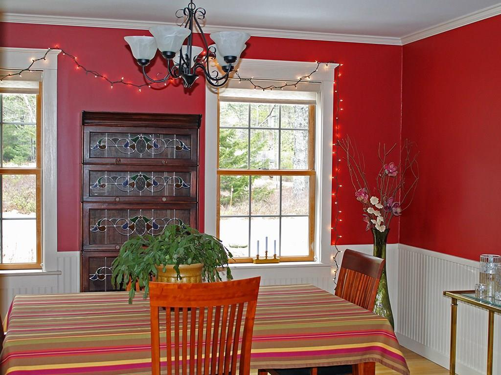 Separate dining room with...