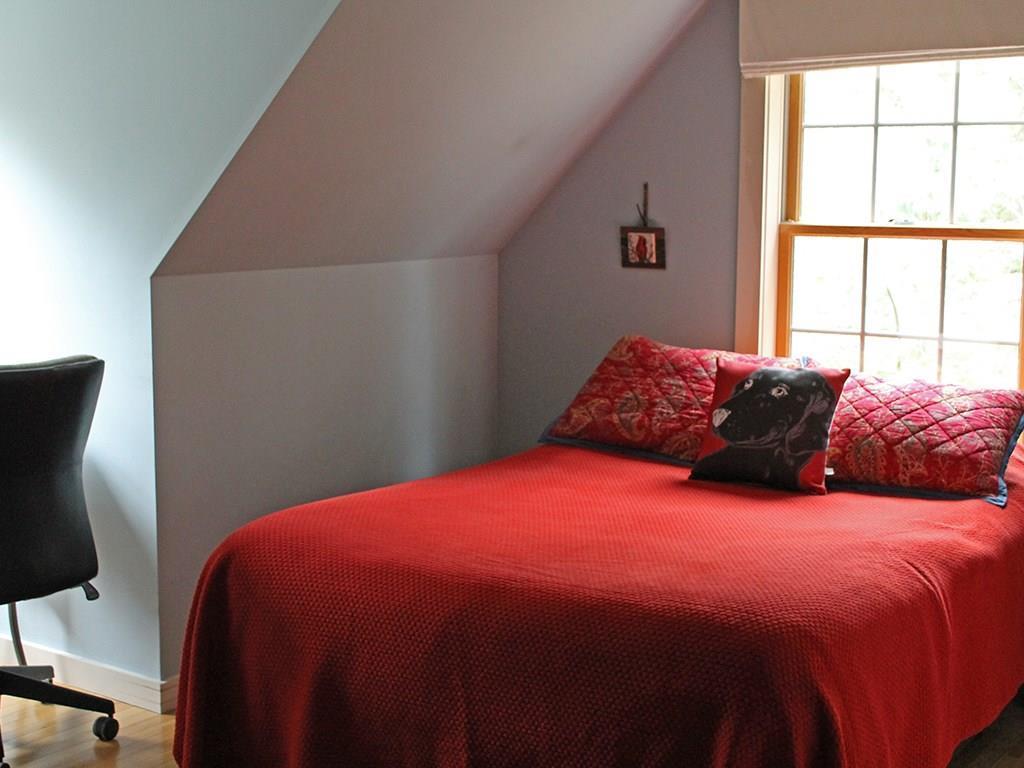 Bedroom with study nook