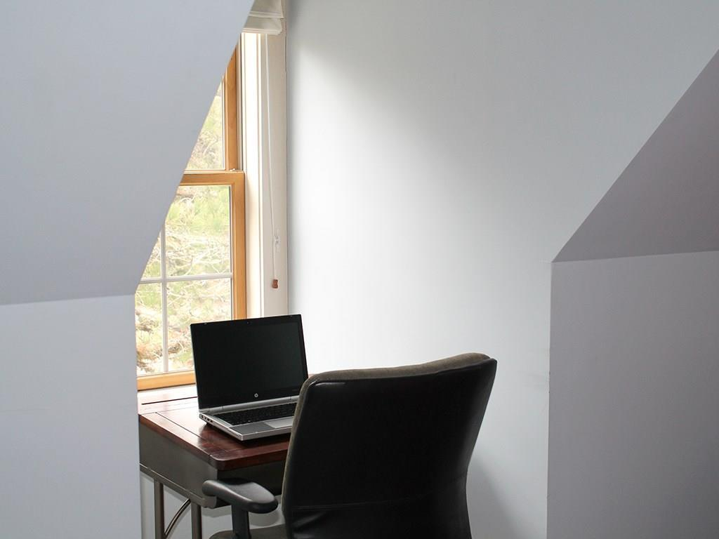 Ideal spot for a desk or computer...