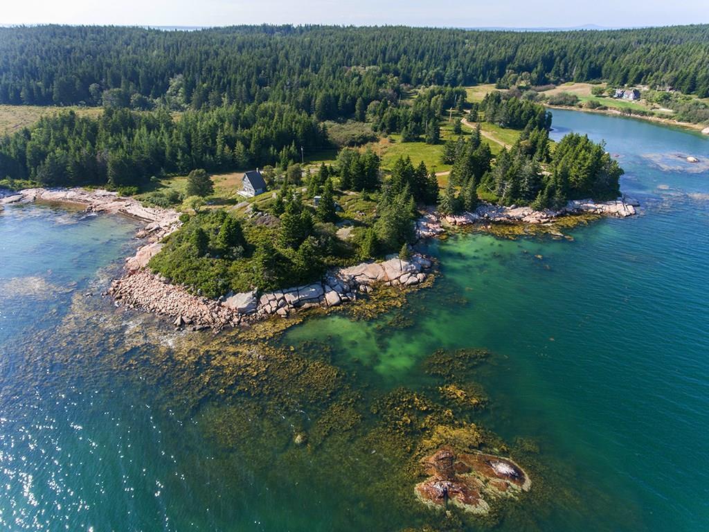 Bold granite Coastline