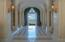 Entering the stunning vaulted entry vestibule, one gazes out straight ahead to Frenchman Bay, the polished marble floor reflecting the water view through arched French doors leading to the waterside terrace and lawn is just breathtaking.