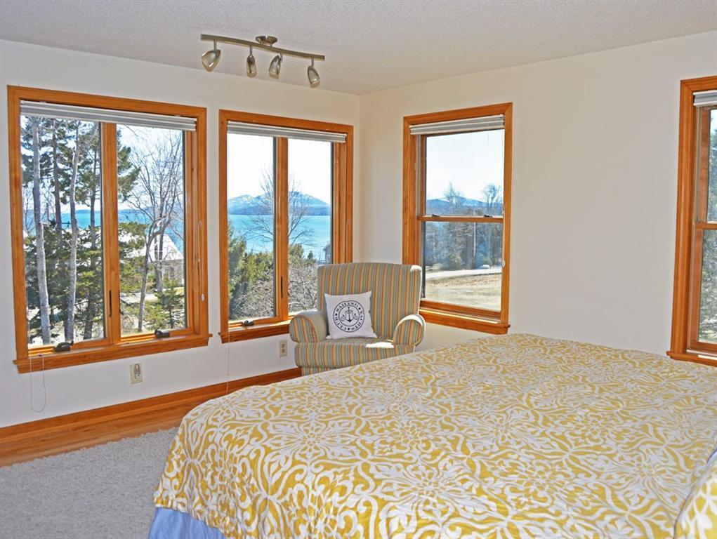 Large master bedroom suite with...