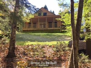 Similar home To-Be-Built. Private setting on 1.3 acres.