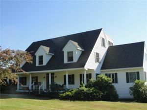 Stunning 5000 SF home with 3 stories including westerly sunsets.