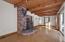Living room/brick hearth/woodstove