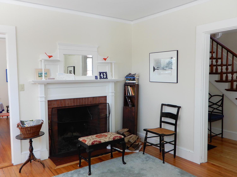 43 Summit Living Room Fireplace