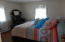 Another view of the larger bedroom.