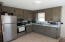 Very nice kitchen with ample cupboard space.