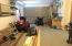1 car garage under.....oversized with a workshop