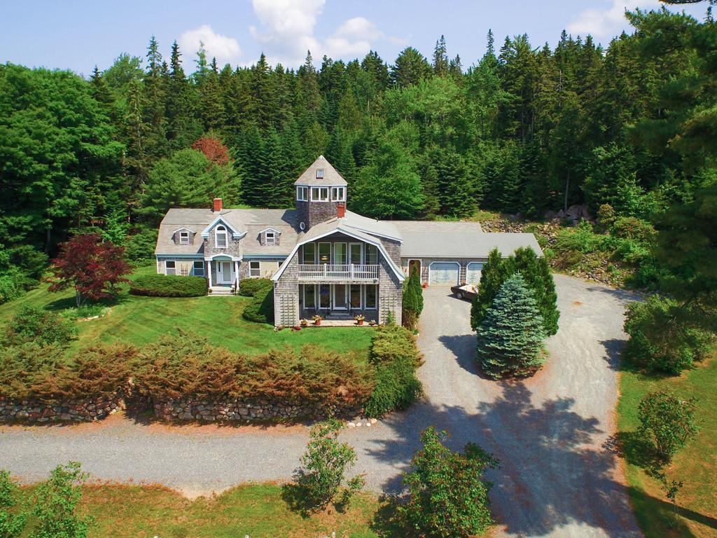 Aerial view of Main House