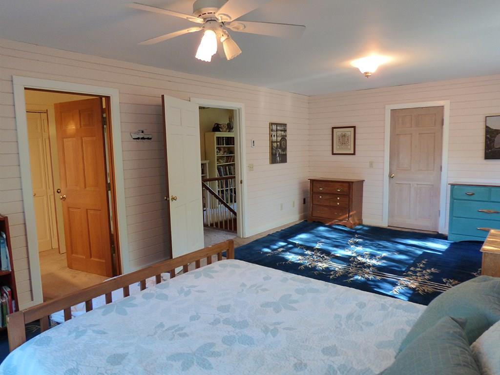 Master bedroom, walk in closet is...