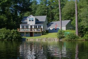 Welcome to 24 Pine Cove Rd, Gray. View from Crystal Lake!