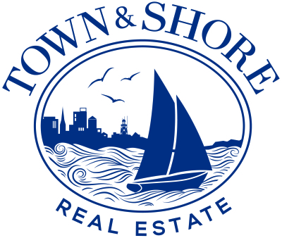 Town & Shore Real Estate logo