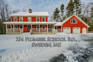 234 Plummer School Road, Sweden, ME 04040