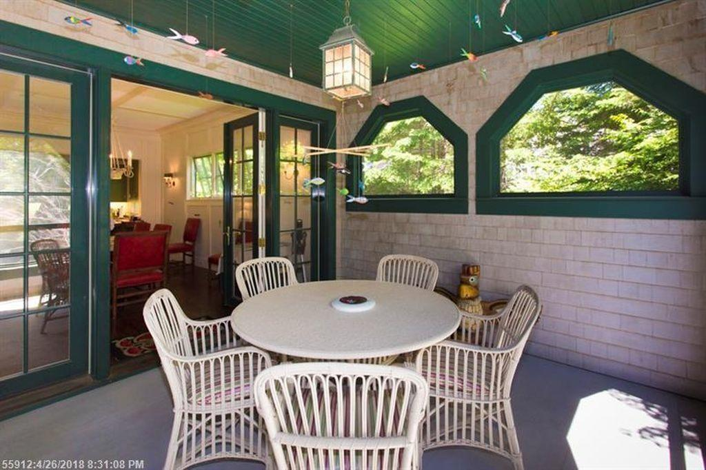 Covered Porch off Dining Area -...