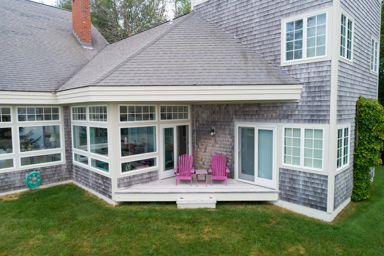 Little deck off master bedroom.