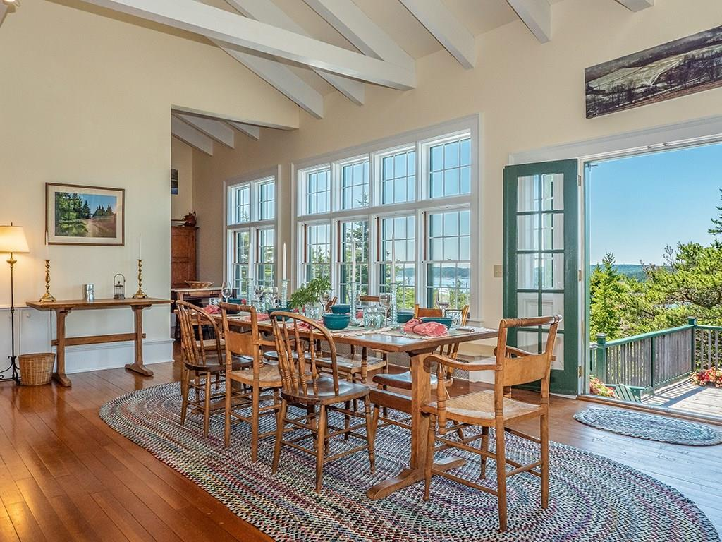 Dining Room with views to SW and...