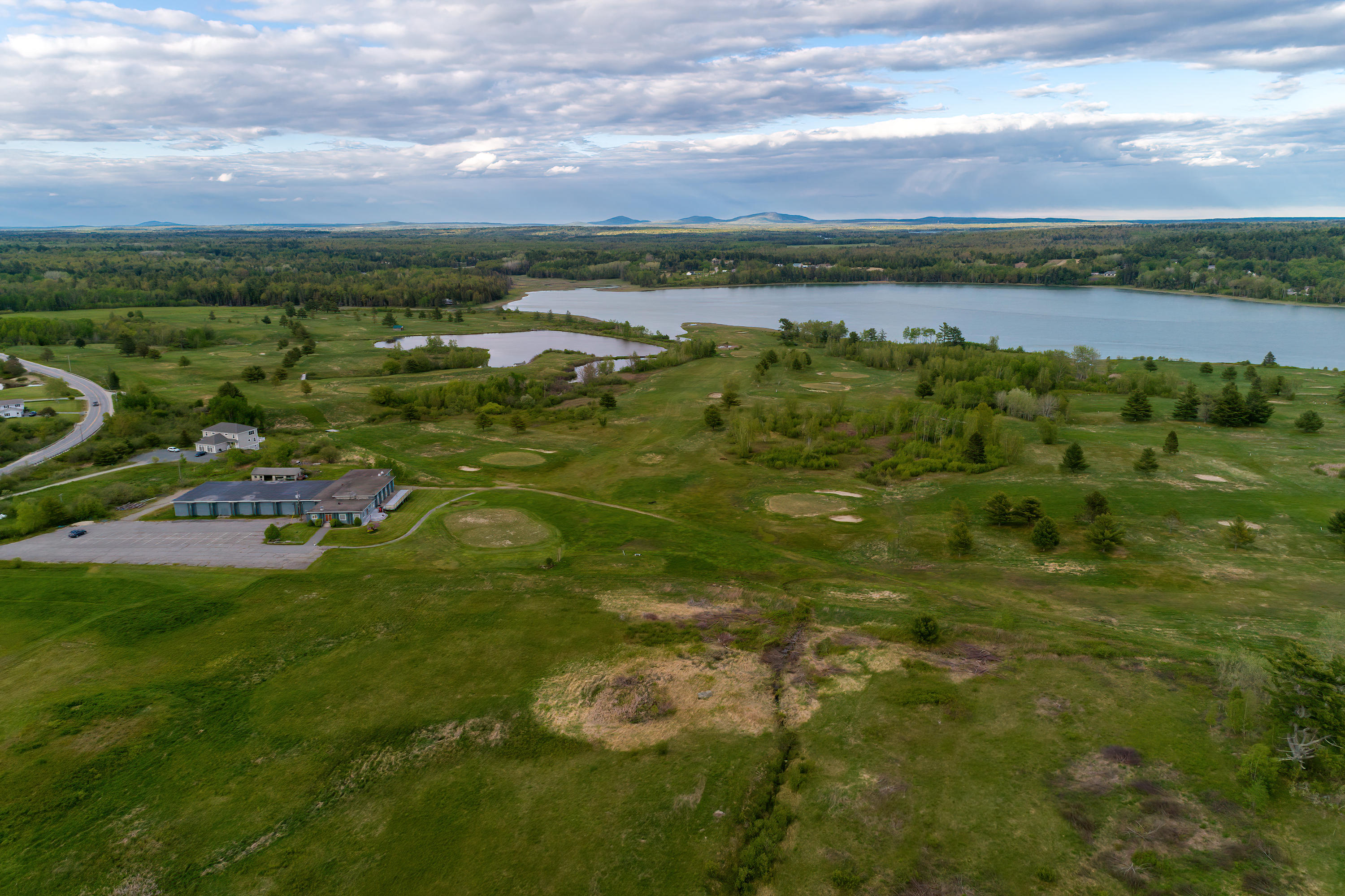 Land in Foreground Commercially Zoned