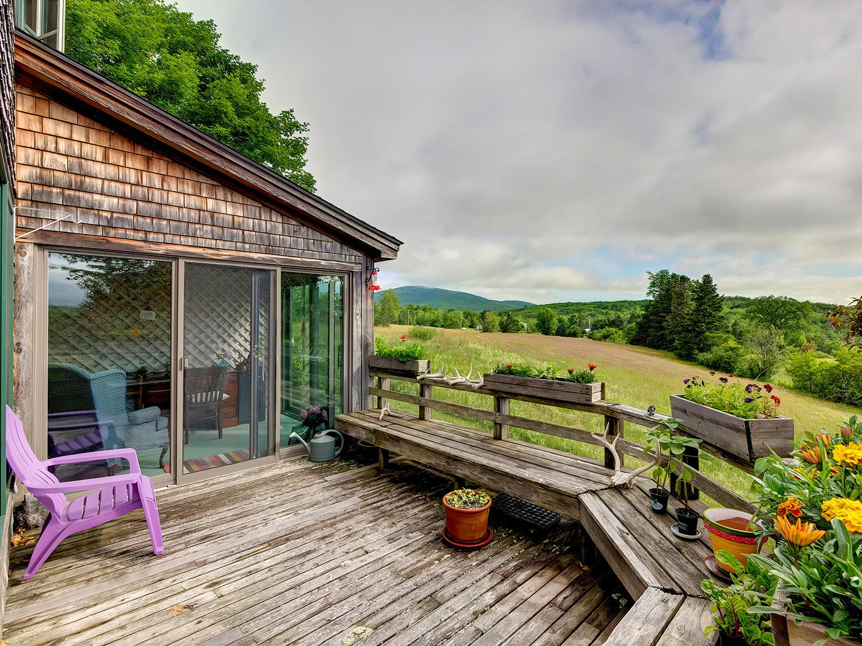 Deck with wonderful views