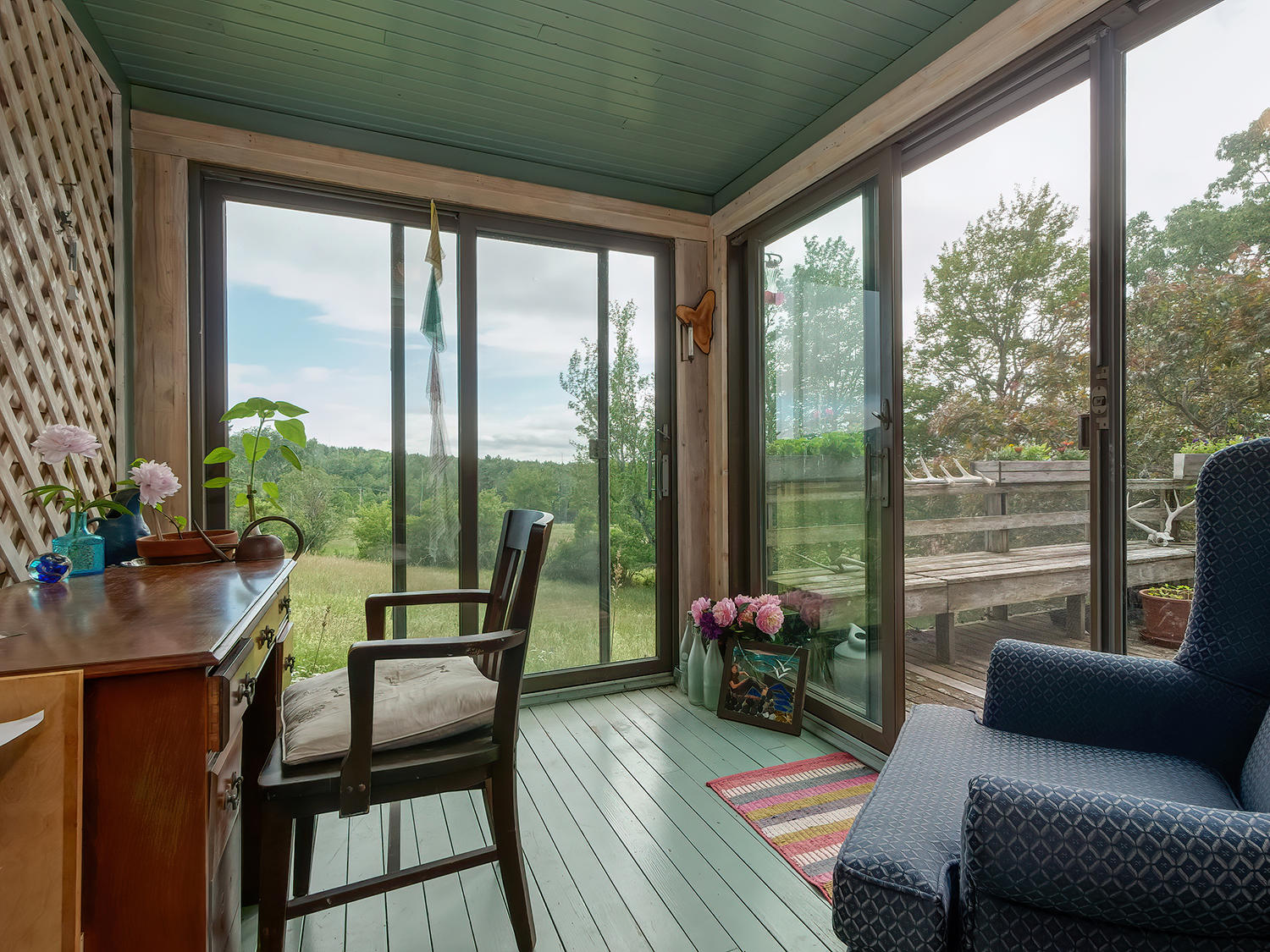 Screened-in Porch off Living Room