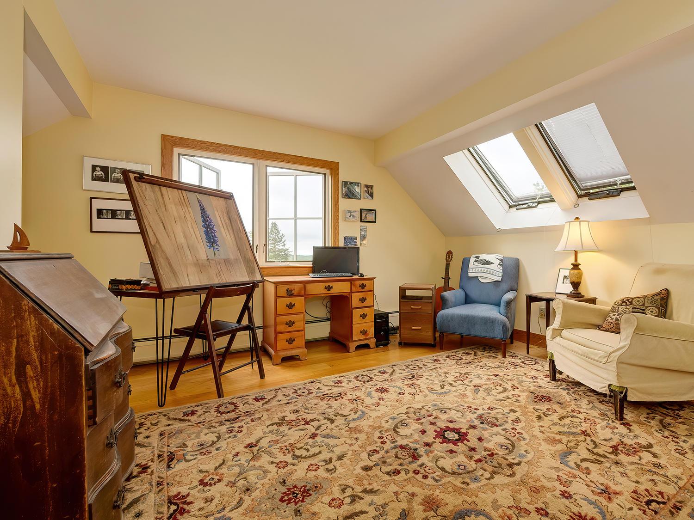 Third Floor Bedroom/Loft with skylights