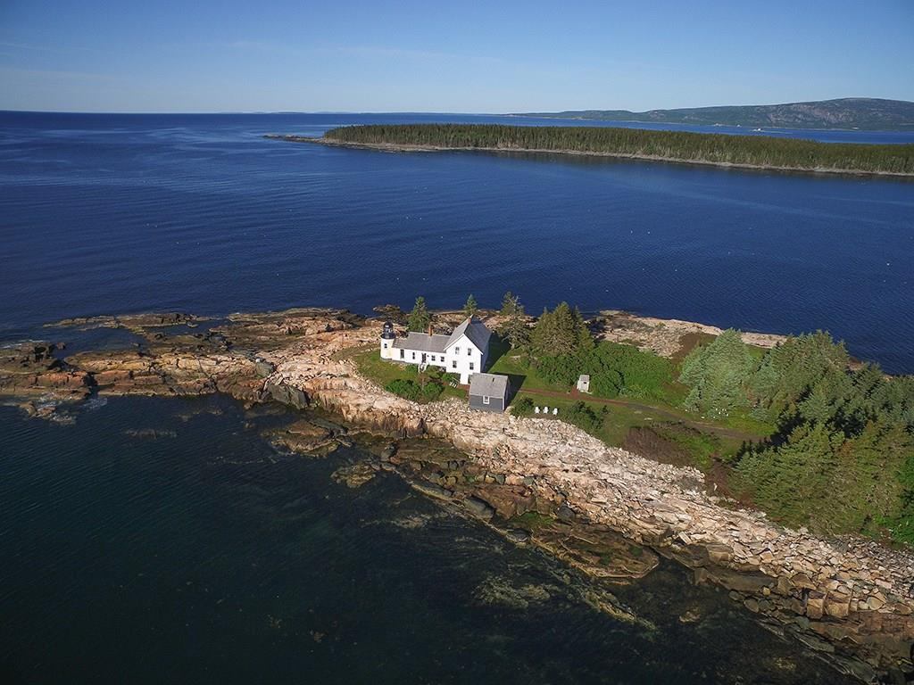Aerial View to SW and Acadia