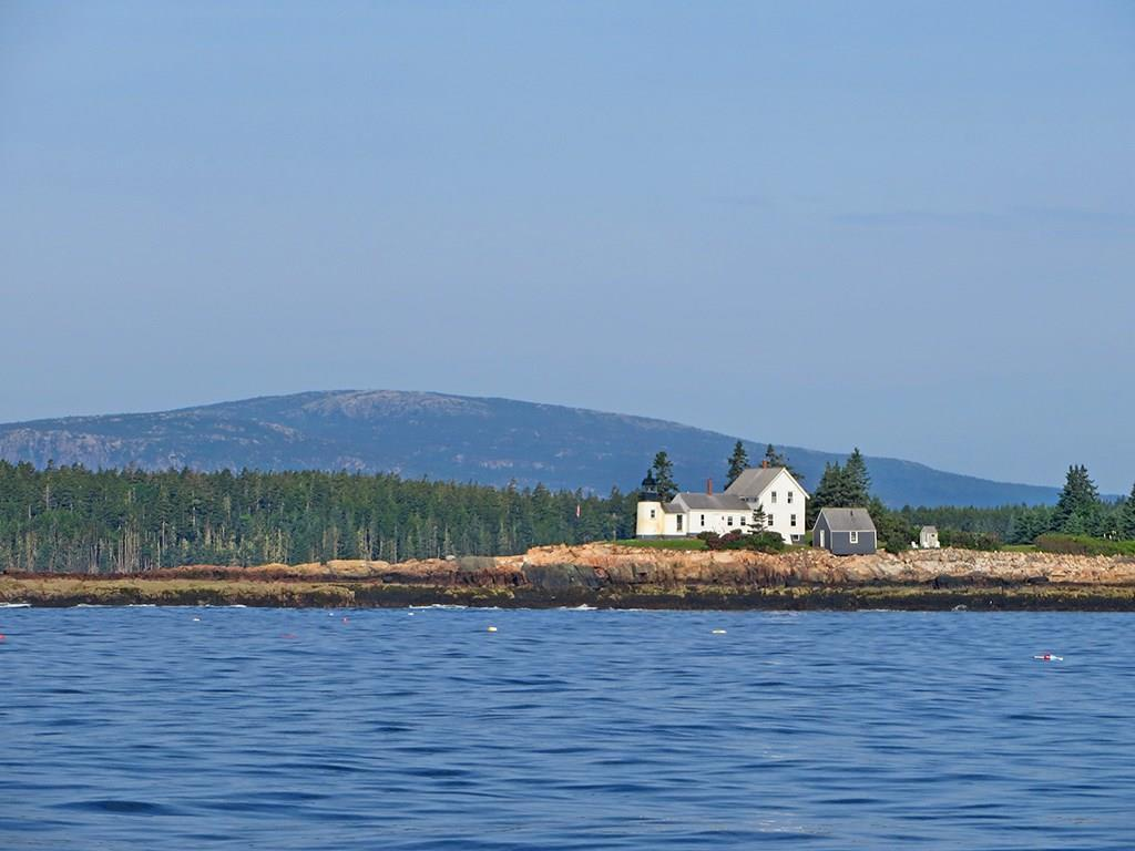 Mark Island Lighthouse and Cadillac