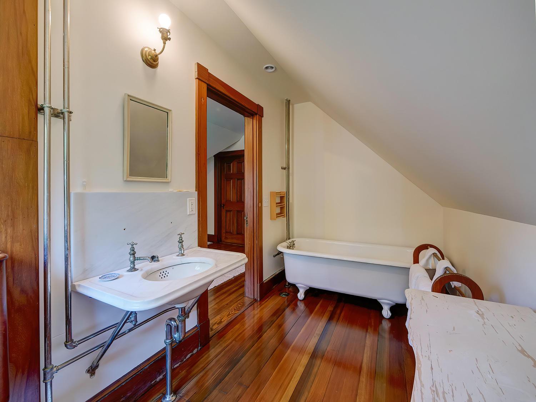 Third Floor Bath with tub