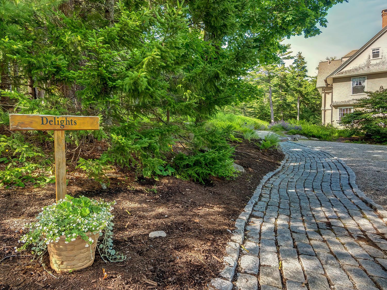 Stone Entrance Path