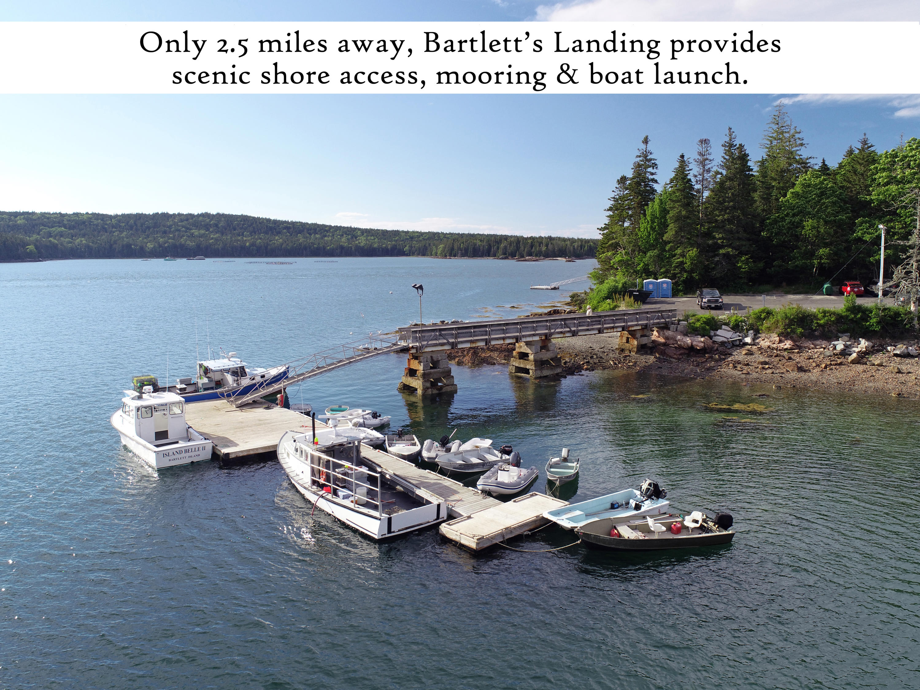Bartlett's Landing 3, label