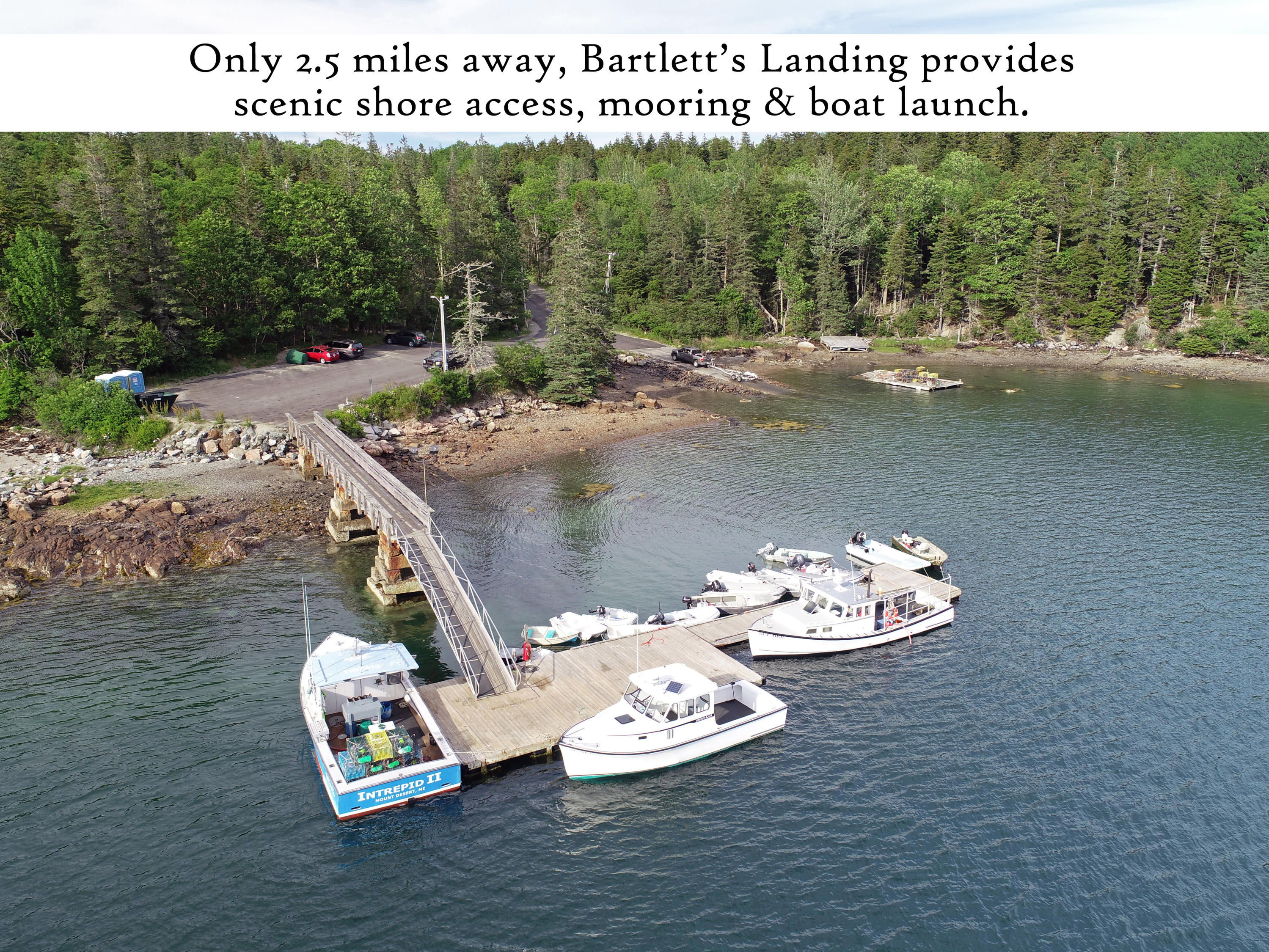 Bartlett's Landing 4, label