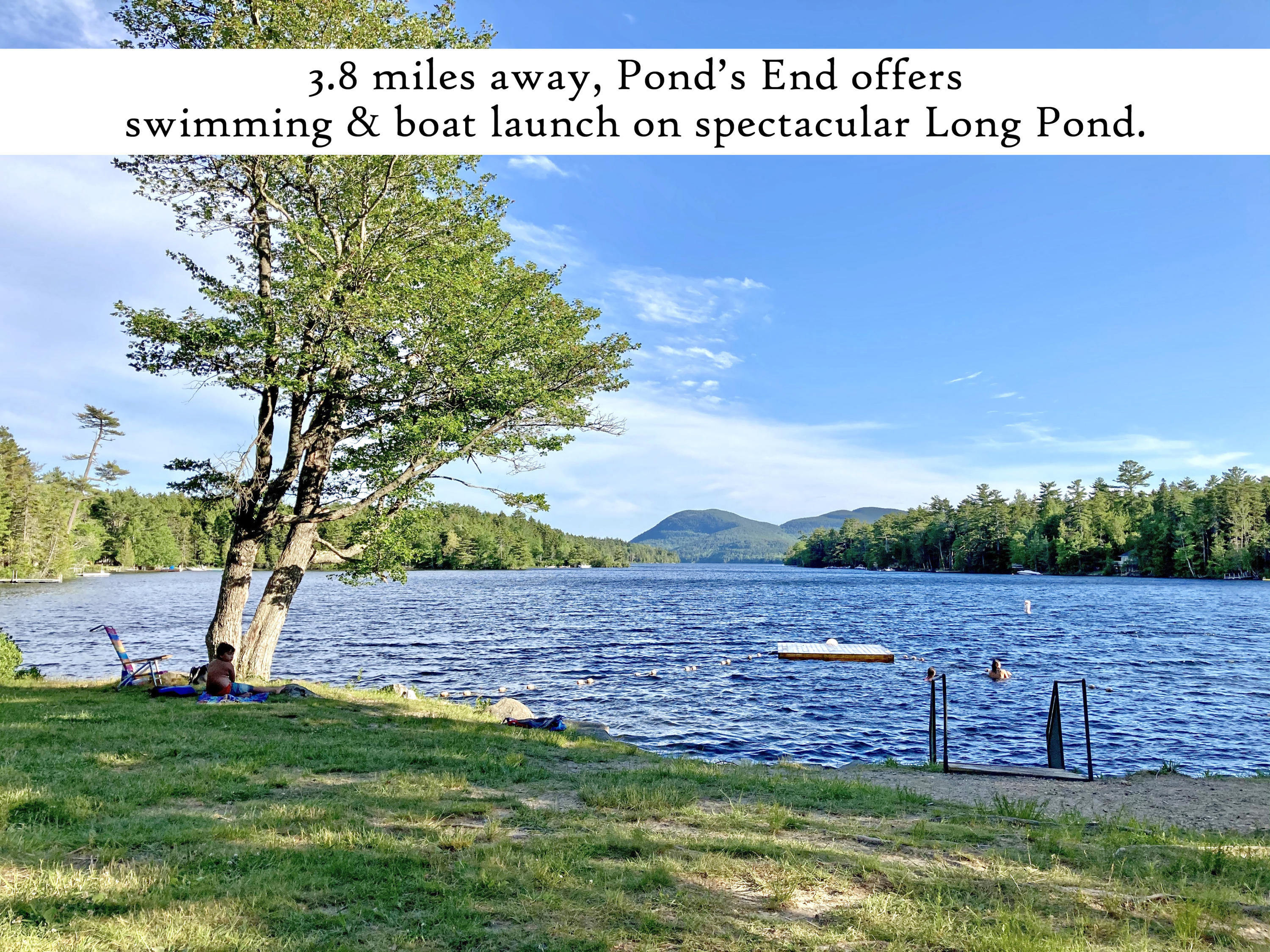 Ponds End 2, label