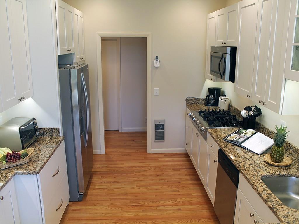 Granite counter tops, new cabinets,...